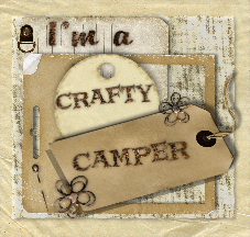 I Won The Crafty Camper Award!!