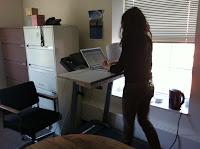 caminadora escritorio