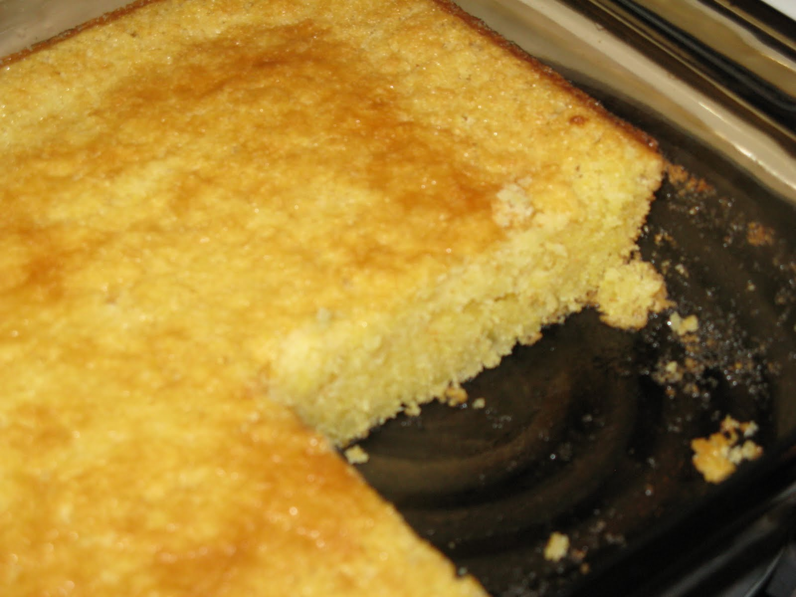 The Friendly Fork: Sweet Cornbread Recipe