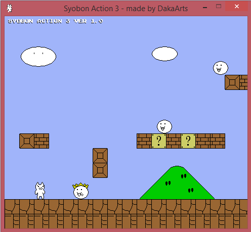 Syobon Action Cat Mario 3 Terbaru Update 2014