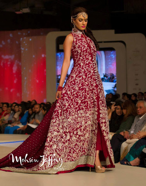 Pakistan Celebrities Pantene Bridal Couture Week 2013 Album 5