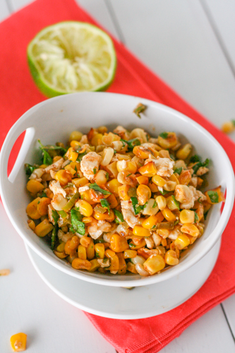 See Brooke Cook: Esquites - Mexican Street Corn Salad