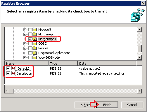 how to apply registry settings by resgistry import through gpo