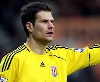 asmir begovic goalkeeper of stoke city