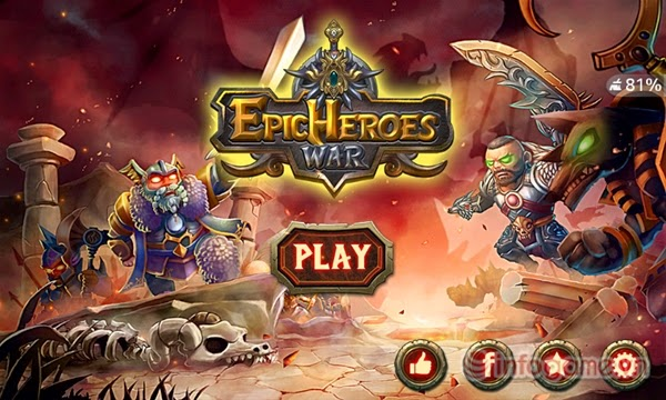 Epic Heroes War v1.0.0 Full Apk