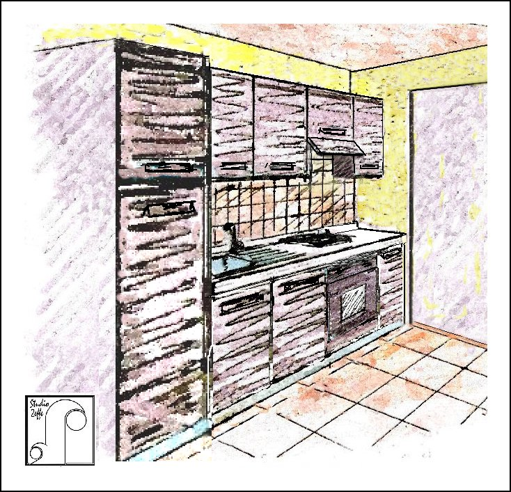 Arredatore on line dimensionamento e soluzioni del blocco for Lavoro arredatore