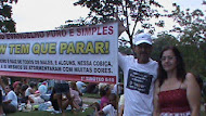Protesto em evento de musica gospel no Rio de Janeiro 06-04-12