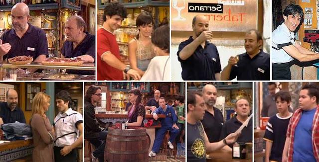 Taberna televisiva de la serie Los Serrano de Telecinco