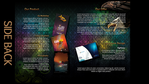 Photoshop Tutorial Creative Bi Fold Brochure