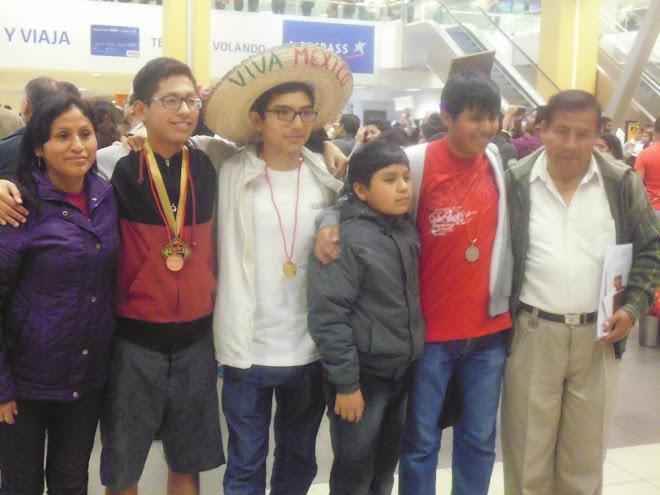 BICAMPEONES IBEROAMERICANOS DE LA VIII OIAB MEXICO 2014.