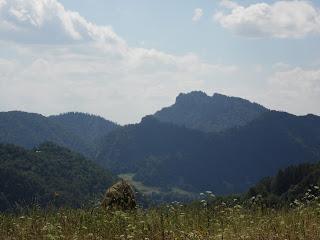 Widok na Trzy Korony