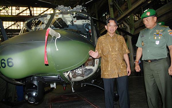 Kemenhan Kembali Memesan 16 Unit Helikopter Bell-412 EP dari PT. Dirgantara Indonesia