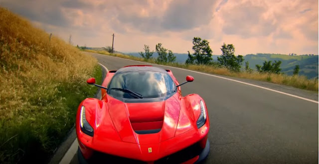 LaFerrari test-driven by Top Gear