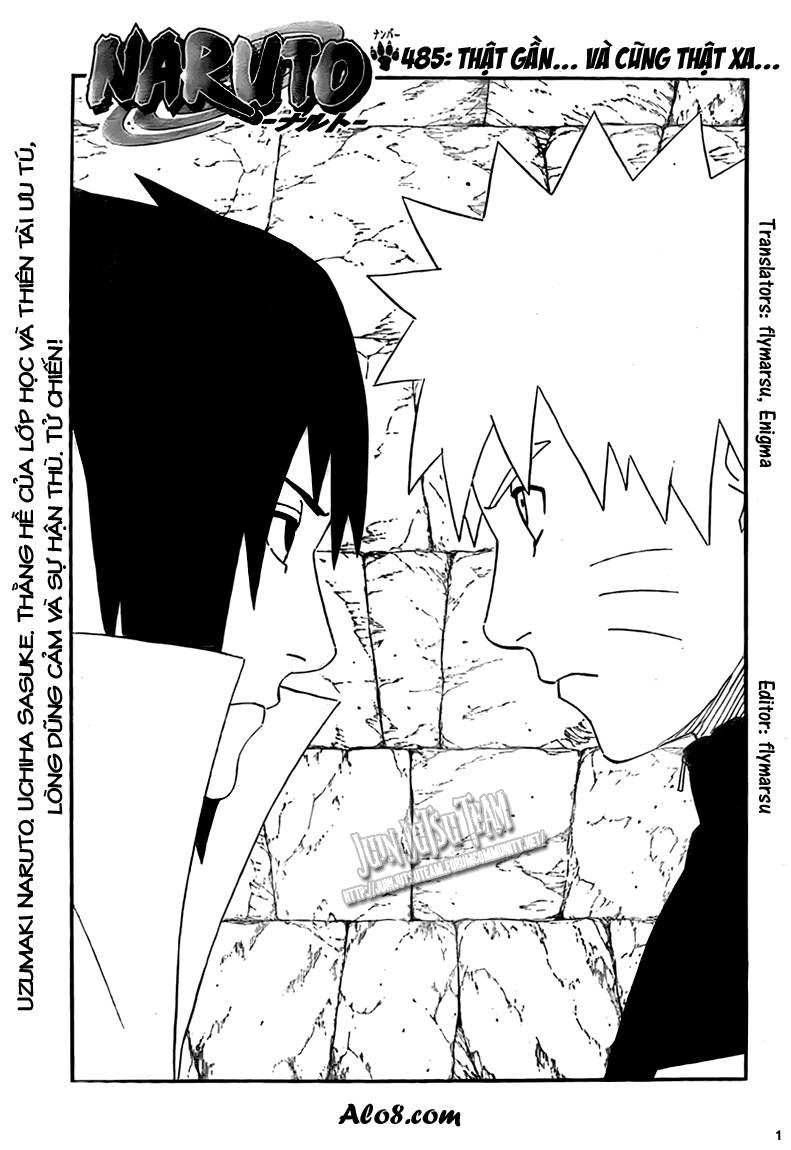 Naruto chap 485 Trang 1 - Mangak.info
