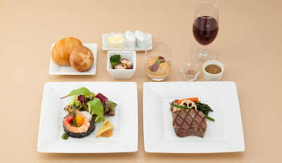 JAL Fall 2011 Business Class Long Haul Western Menu (Option A)