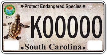Purchase your new SCDNR Endangered Species License Plate