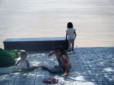 children, streets, Cambodia, Phnom-Phen