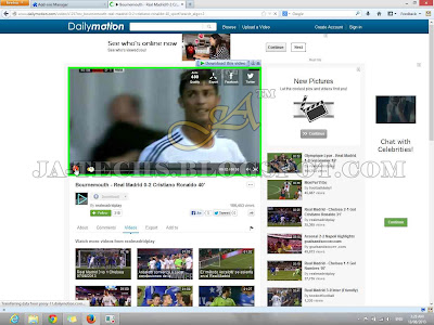 Downloading Video Clips from DailyMotion - Tutorial Step 7