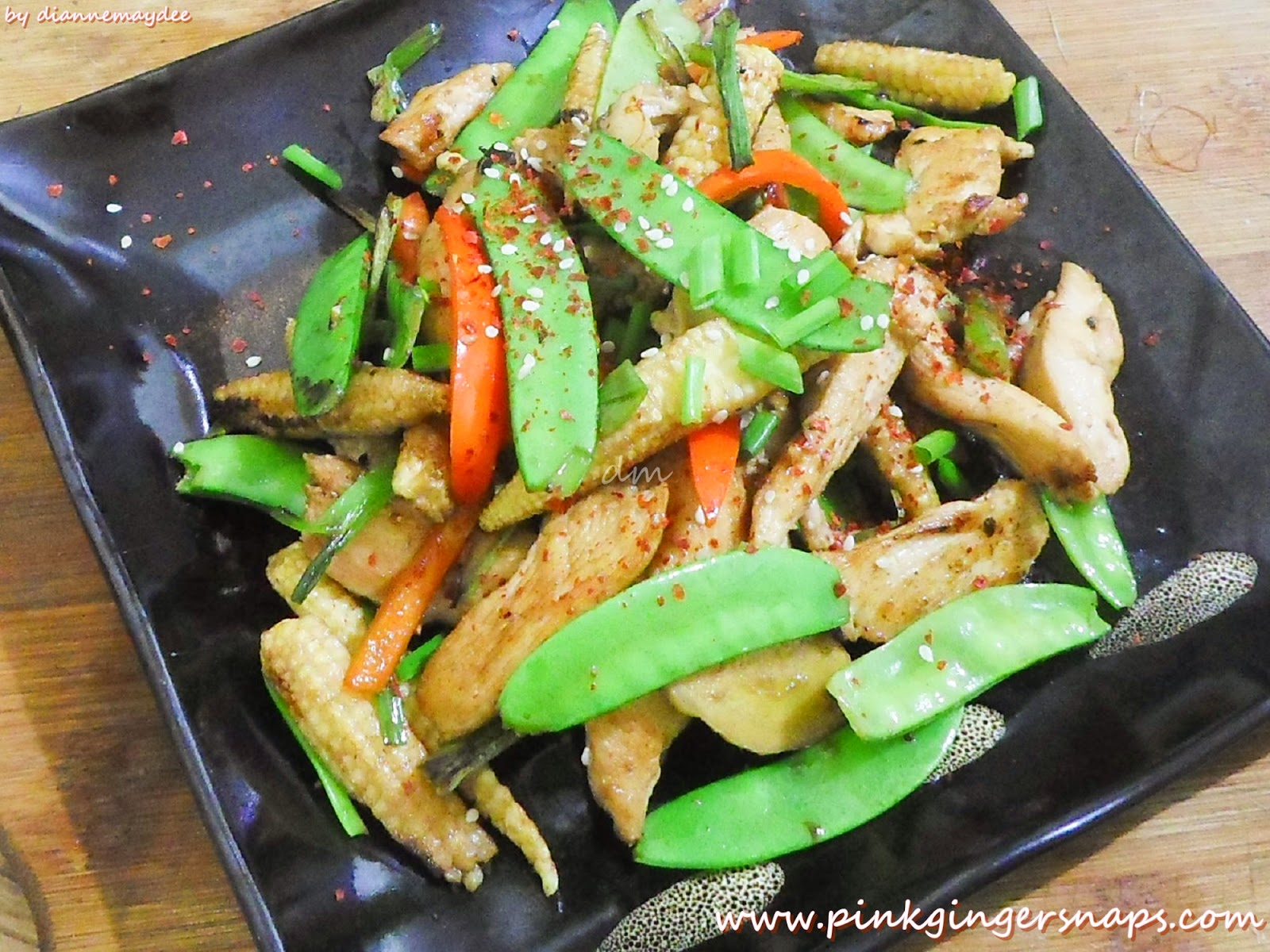 easy stir-fry recipe for one