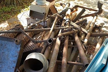Radiator Pipes Removal