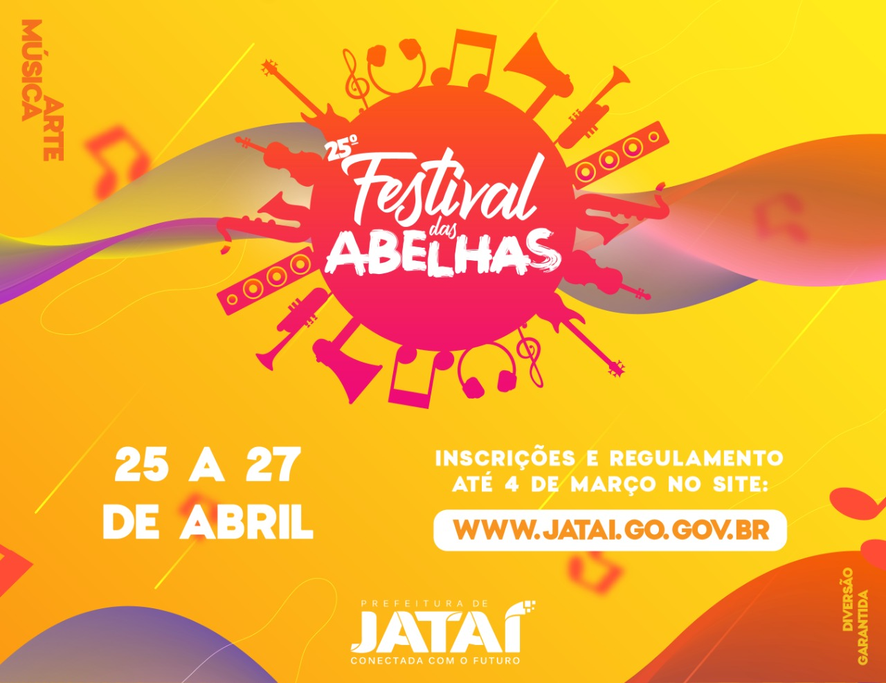 Festival das Abelhas - Inscrições Abertas