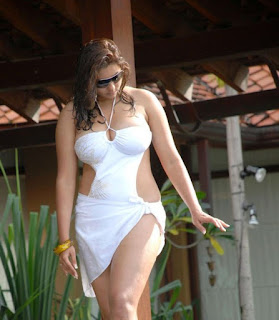 namitha hot in white bikini photos