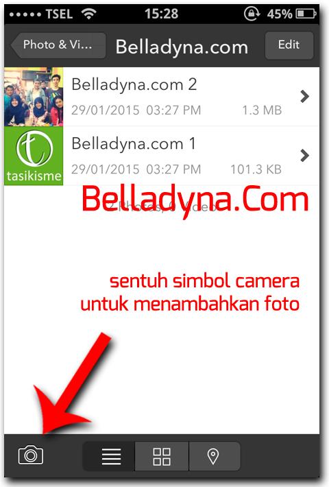 Hidden foto dan video di iPhone 6