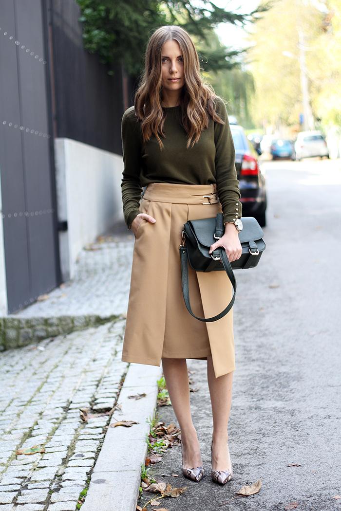 High-Slit Skirt