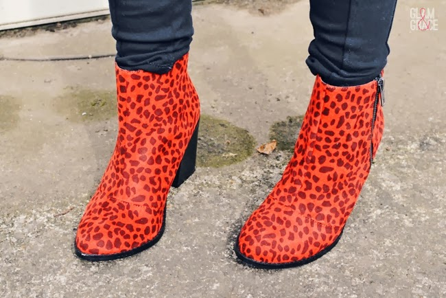 NastyGal Shoe Cult Leopard Boots