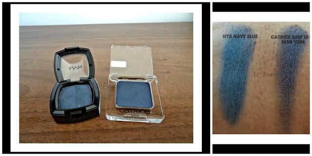 Sombras Azules de Nyx y Catrice