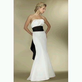 MuyAmeno.com: Vestidos de Novia en Blanco y Negro