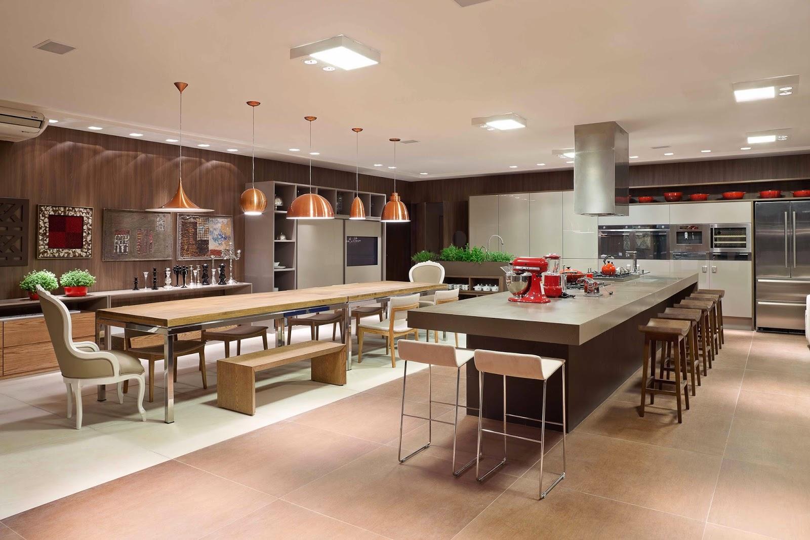 20 Cozinhas Modernas e Sofisticadas – Inspire se! Decor Salteado  #A72C24 1600 1067