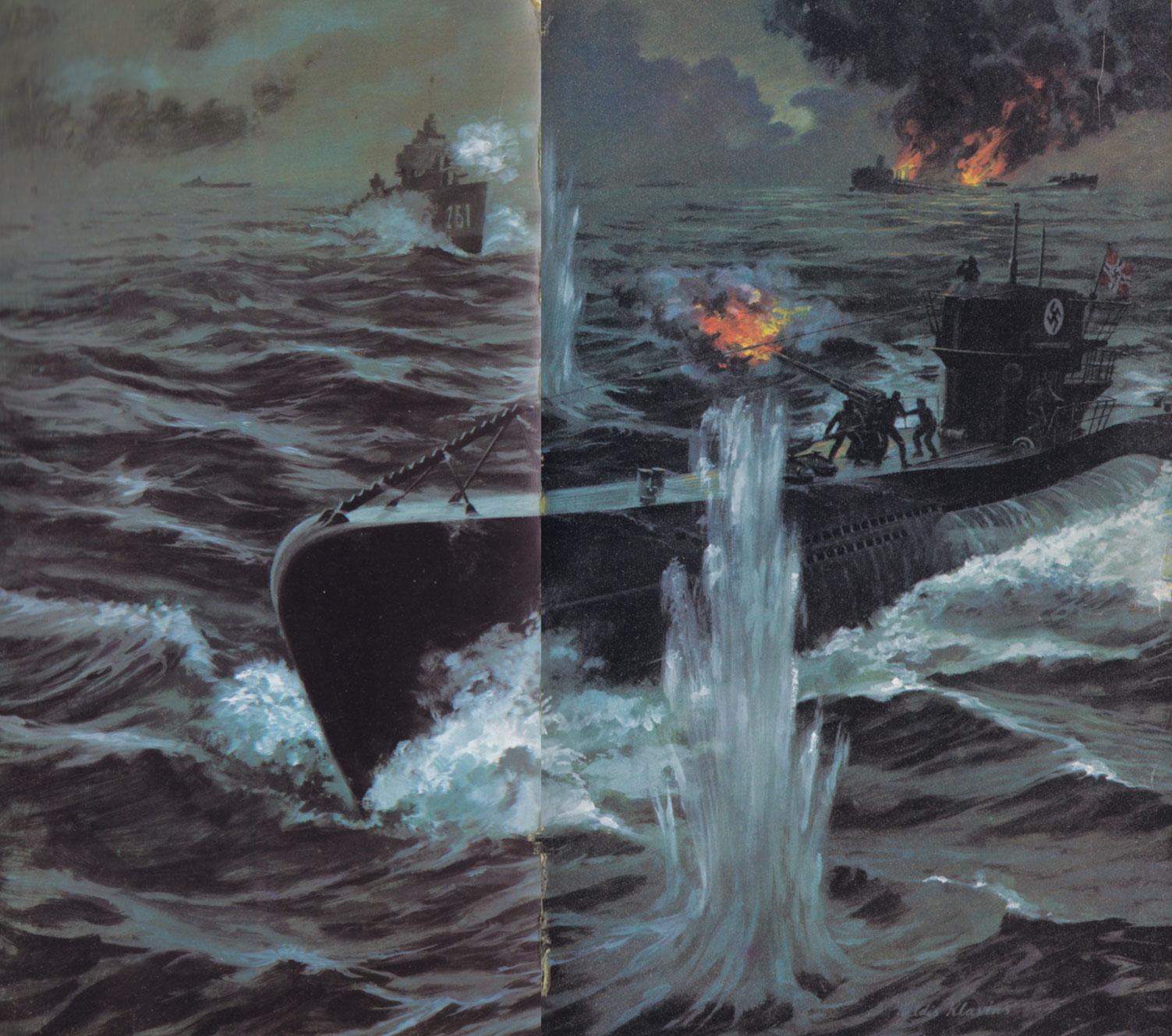 Cool world war ii cover art u boats at war
