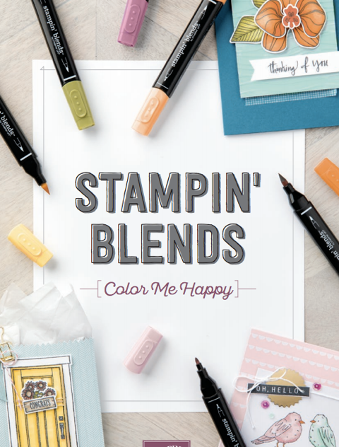 NEW Stampin' Blends