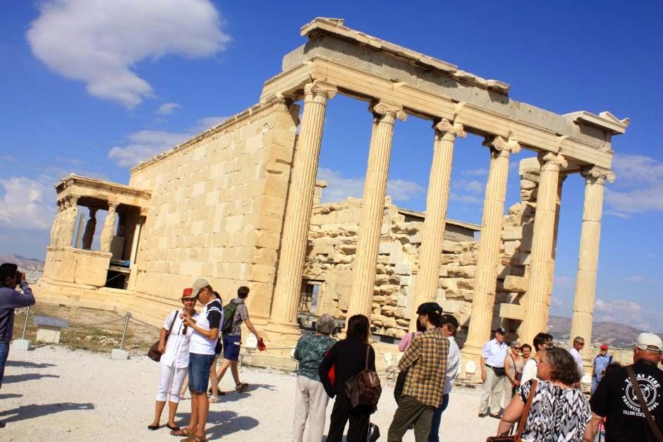 Erectheion in the Acropolis