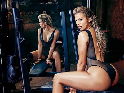 Khloe Kardashian Sexy Wallpaper