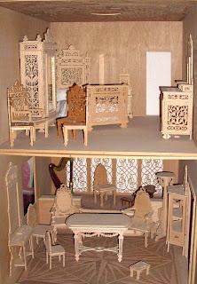 El arte de la marqueteria artesania casa de mu ecas - Casas de marqueteria ...