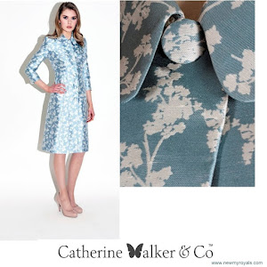 Kate Middleton Style CATHERİNE WALKER Astrid Coat Dress