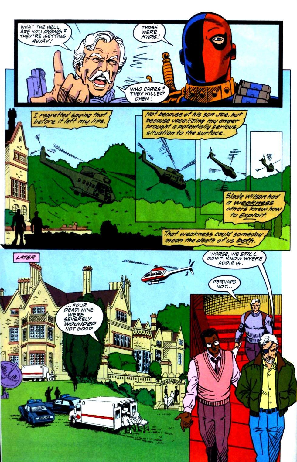 Deathstroke (1991) Issue #27 #32 - English 22