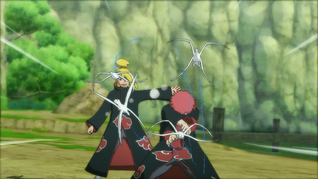 Sasori and Deidara Storm Revolution Ultimate Team Jutsu