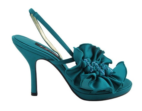 Teal Wedding Shoes 002 - Teal Wedding Shoes