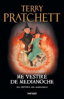 Me vestiré de medianoche de Terry Pratchett