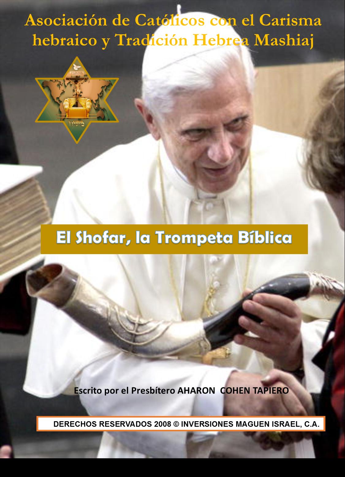 EL SHOFAR, LA TROMPETA BIBLICA