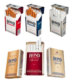 List of cigarettes Dunhill brands sold in New York