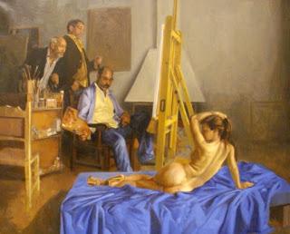 Artistas Pintado Mujeres Desnudas