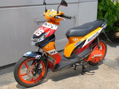 MODIFIKASI+HONDA+BEAT+3