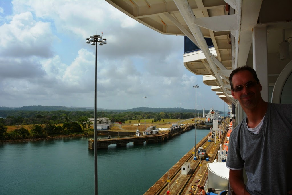 Gatun Locks Panama Canal cruise
