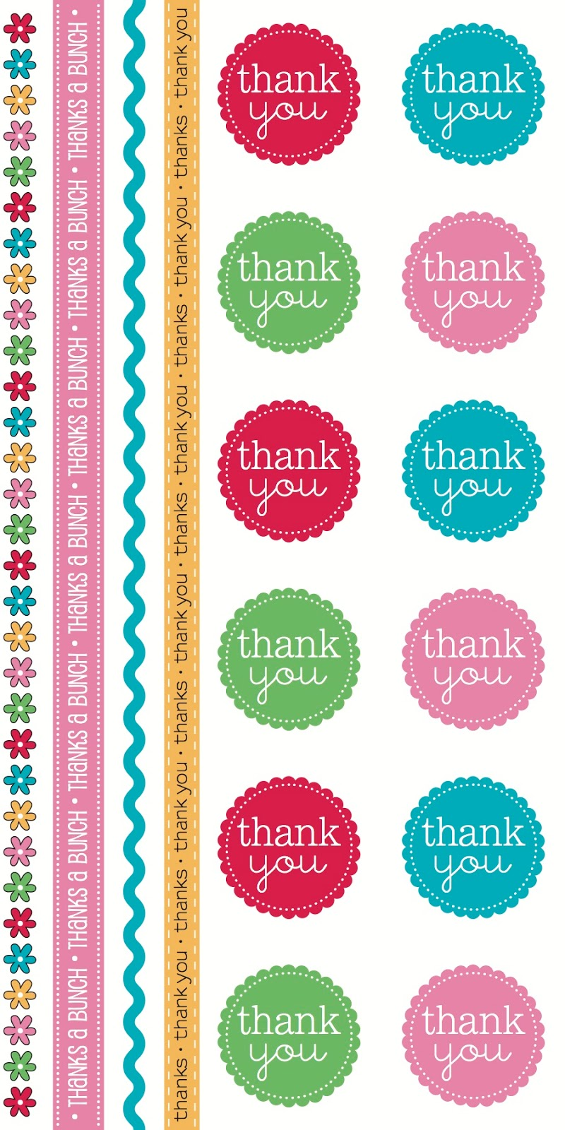 SRM Stickers BLog - New Product Reveal Stickers - #stickers #Take2 #Thank You