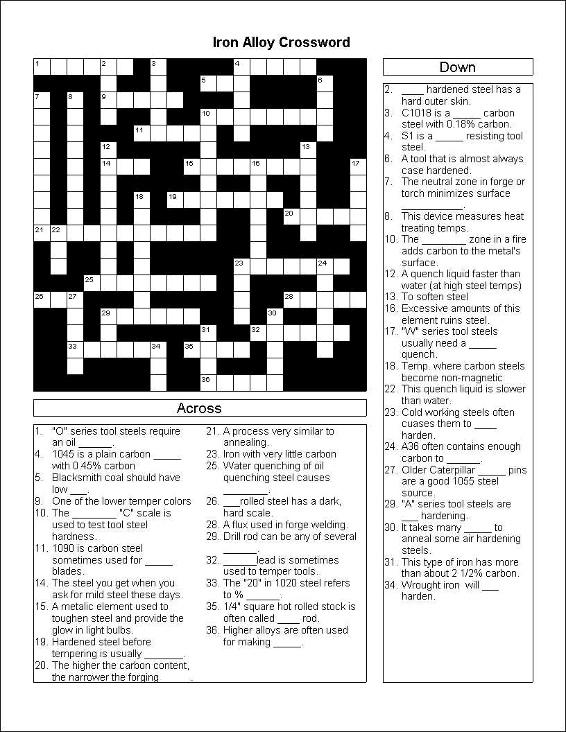 CROSSWORD IMAGE 1 (CLICK TO