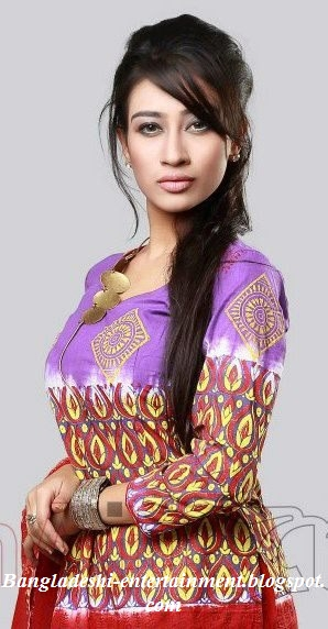Bangladeshi model actress Raha